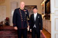 Lao Ambassador to the Kingdom of  Norway Presents Credentials