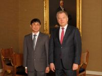 Lao Ambassador to the Republic of  Finland Presents Credentials